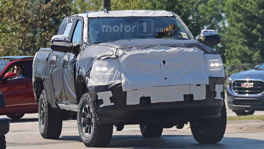 2020 Ram Power Wagon Spied Wearing A Heavy Disguise