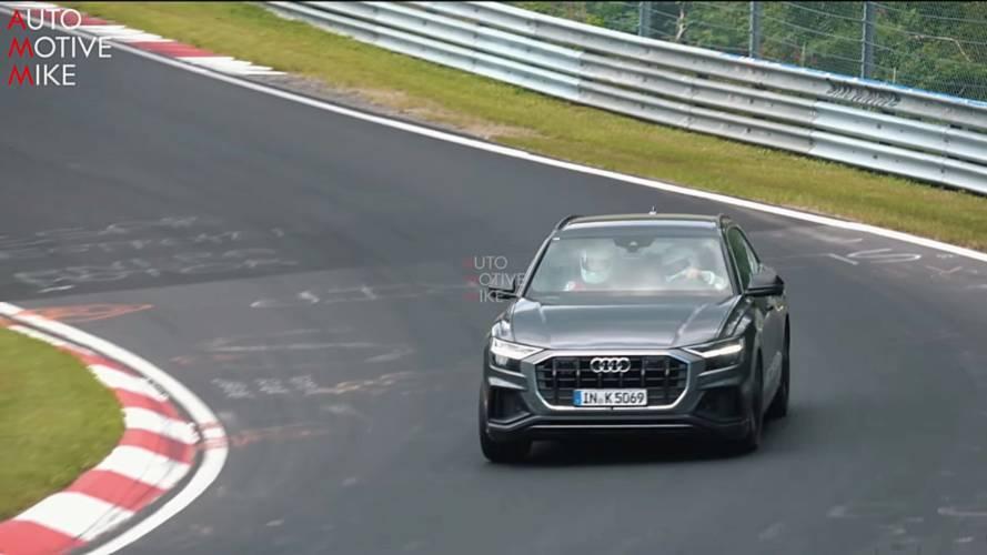 Audi SQ8'in Nürburgring'deki testini izleyin
