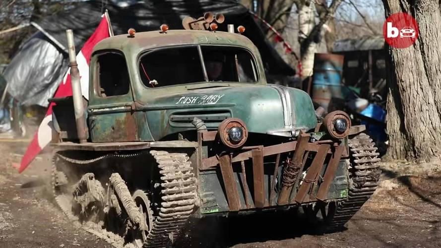 Tankenstein Is A World War II Tank Turned Hot Rod