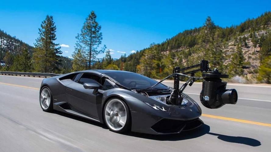 Lamborghini Huracam, un coche-cámara con 610 CV