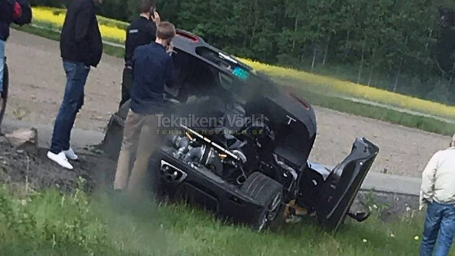 Koenigsegg Agera RS Gryphon Crashes… Again