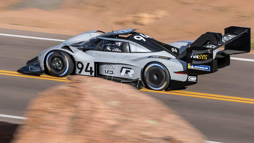 Volkswagen I.D. R Pikes Peak 2018 Romain Dumas qualifying