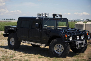 Tupac Shakur's 1996 Hummer H1 is for Sale