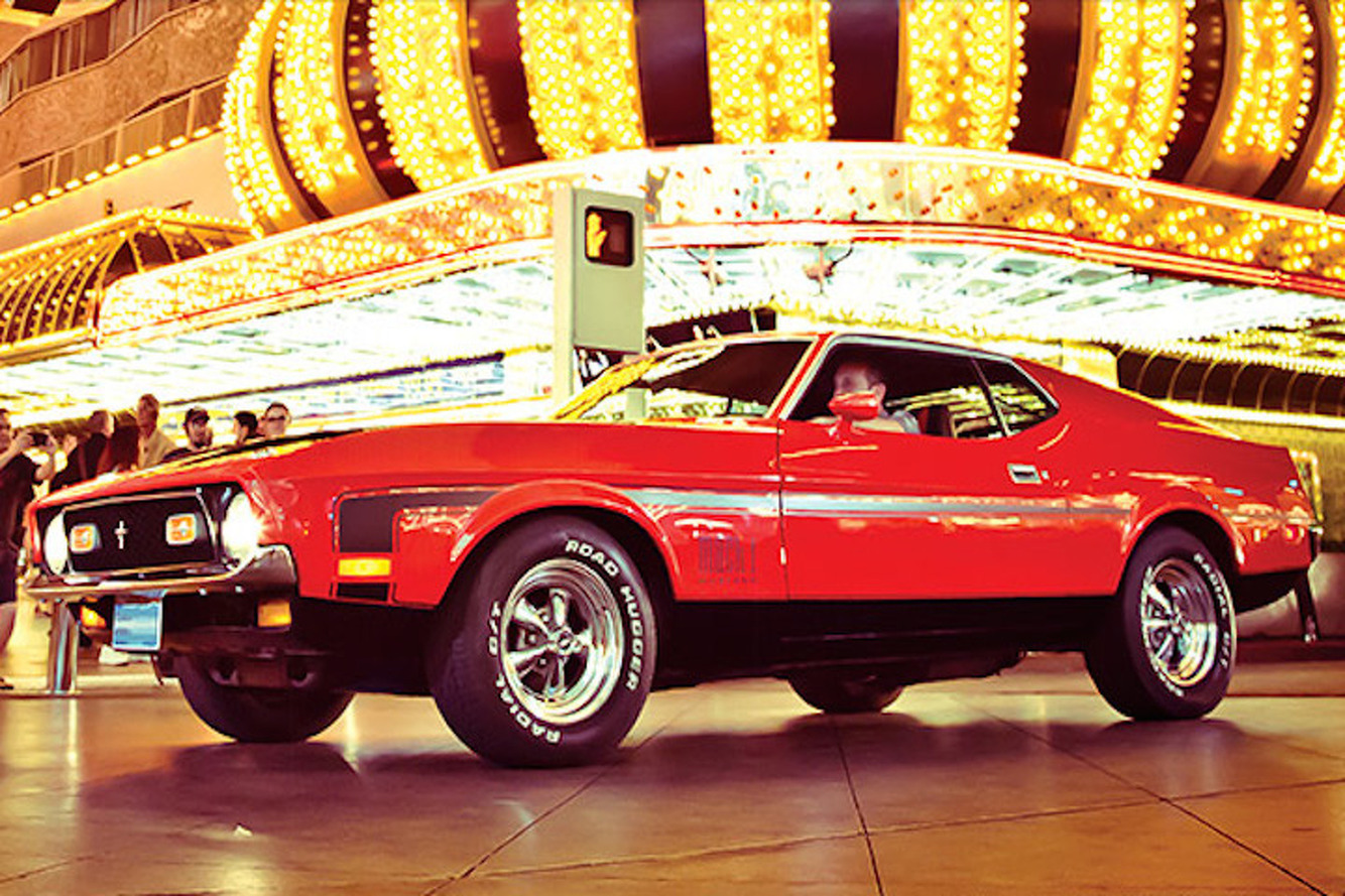 Remember When James Bond Drove A 1971 Mustang Mach 1?
