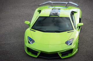Fab Design Dolls Up the Lamborghini Aventador in Green