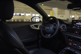 Video: Driverless Audi A7 Drops Off Driver, Parks Itself