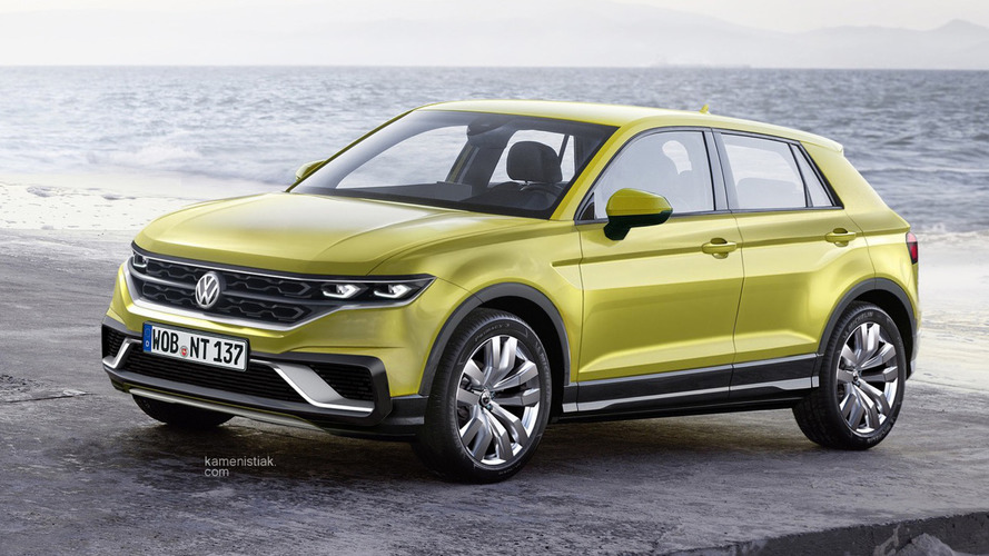 VW Polo-based crossover gets rendered