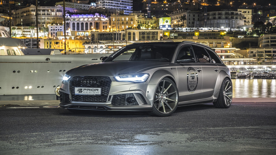 Audi A6/RS6 Avant gets wide body kit and engine tuning