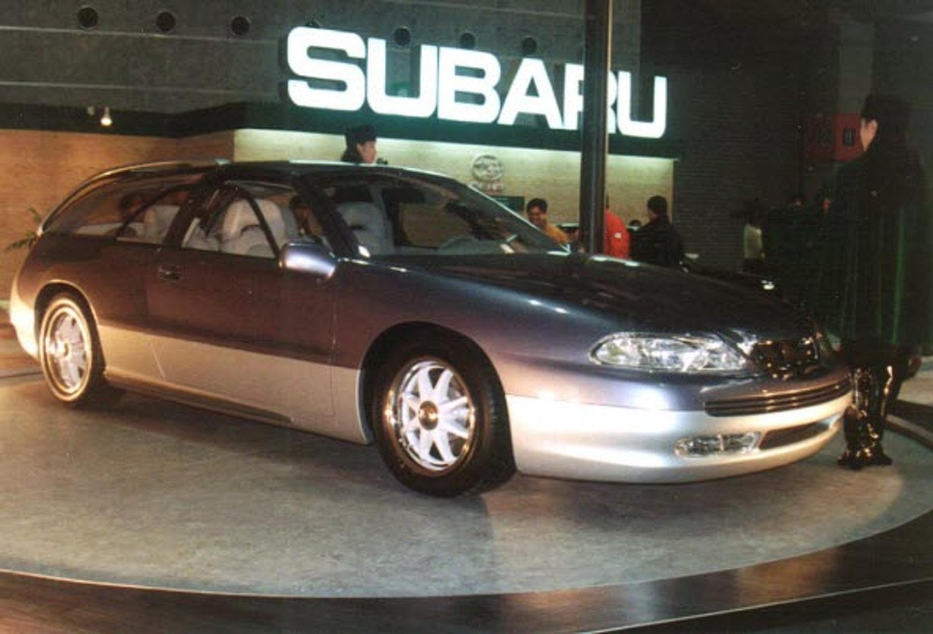 Sports car face plant subaru svx 1991 1997 vanachro Images
