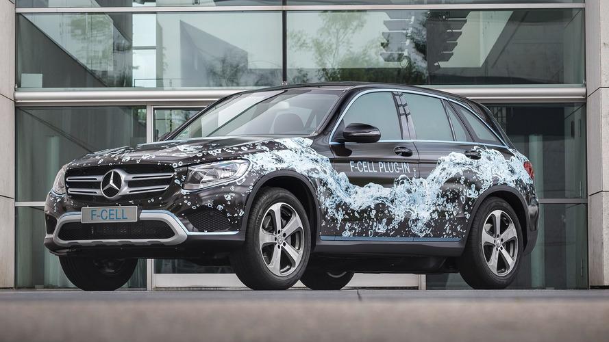 Mercedes GLC F-CELL plug-in hydrogen prototype revealed