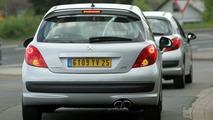 Undisguised Peugeot 207 RC Spy Photos