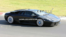 Lamborghini Murcielago Replacement Mule Spy Photos