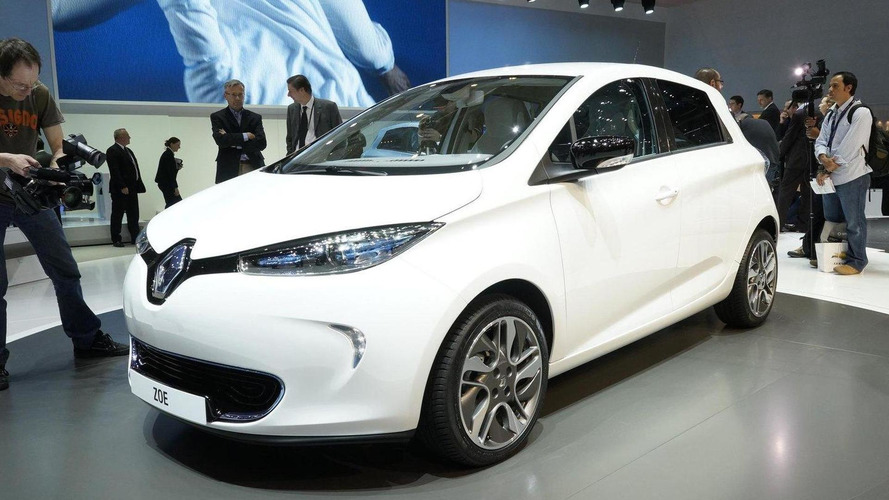 Renault Zoe electric production version revealed and priced in Geneva
