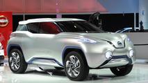Nissan TeRRA concept live in Paris