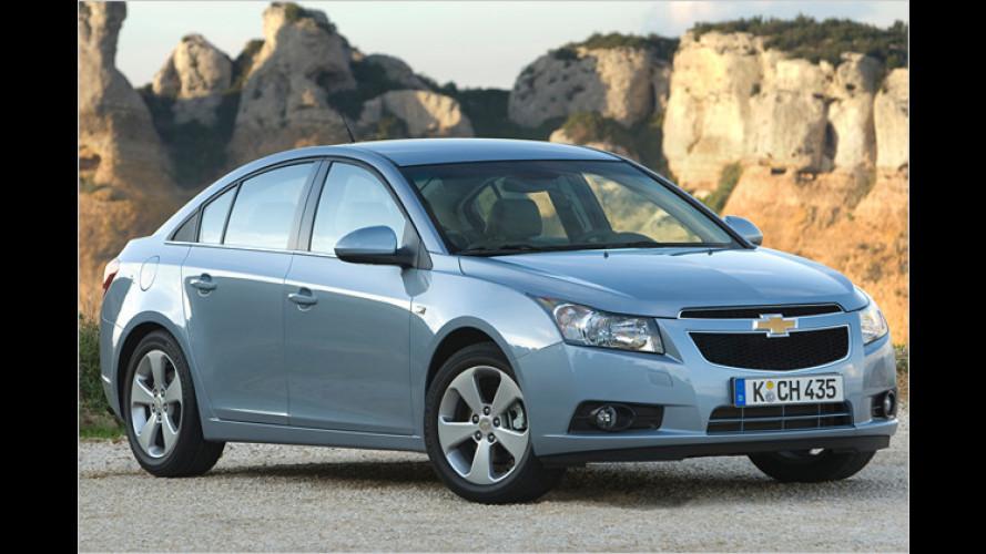 Chevrolet Cruze: Jetzt weitere Dieselvarianten zu haben