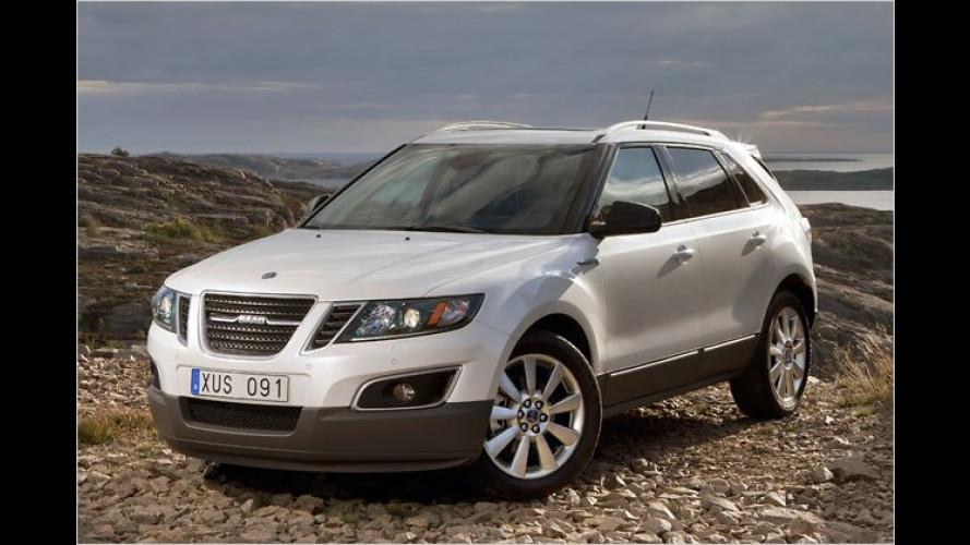 Saab gibt die Preise für 9-5 SportCombi und 9-4X bekannt