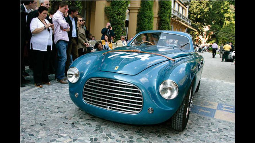 Spektakuläre Autoschönheiten beim Concorso d'Eleganza