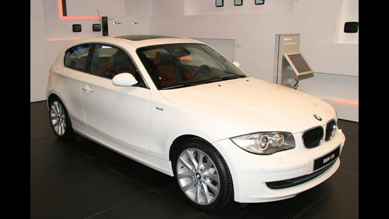 Der BMW 1er erhielt im Vorjahr ein Facelift und kam erstmals als Dreitürer