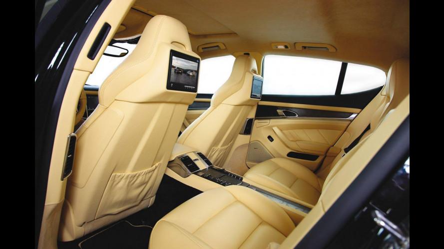 Techart Porsche Panamera: interni