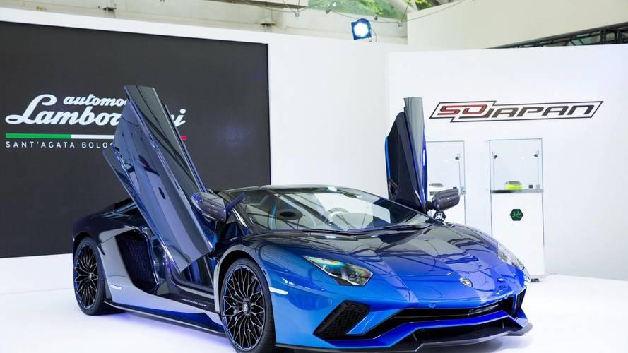 Cinq Lamborghini Aventador S Roadster uniquement pour le Japon