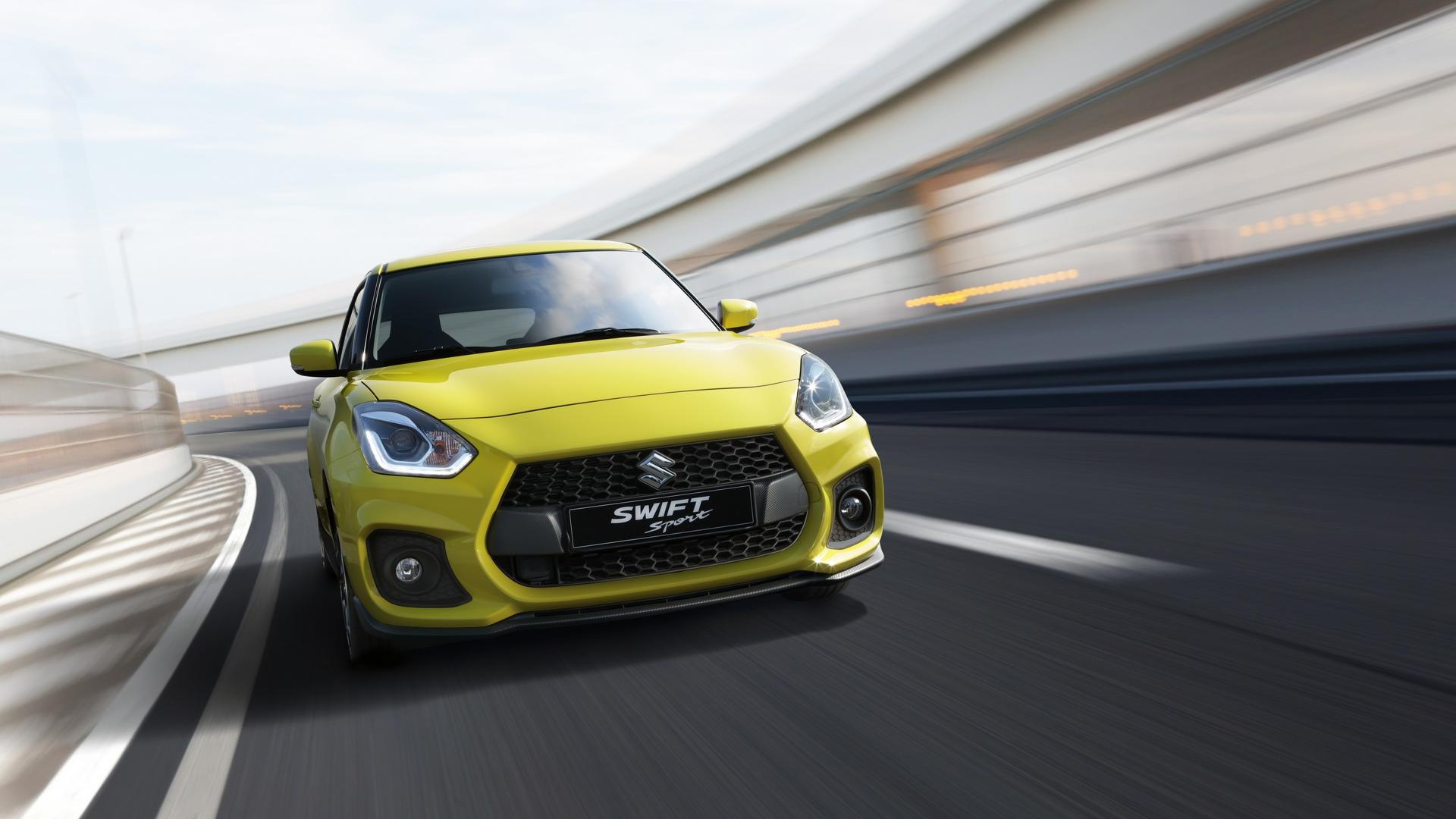 The All New Swift Sport Had Its Global Premiere At The Frankfurt Motor Show  Today. The Third Generation Swift Sport Features A Lower, Wider Stance, ...