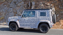 2018 Suzuki Jimny spy photo