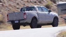 2019 Ford Ranger alt bölüm casus fotoğrafları