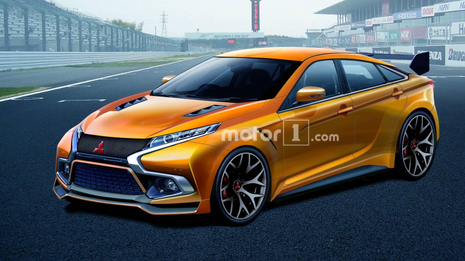 Imagining A Future In Which The Mitsubishi Evo Is Still A