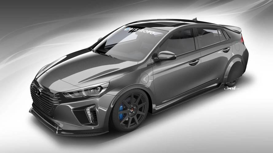 Hyundai HyperEconiq Ioniq Concept 2017