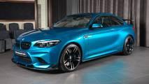 BMW M2 paquete aerodinámico carbono