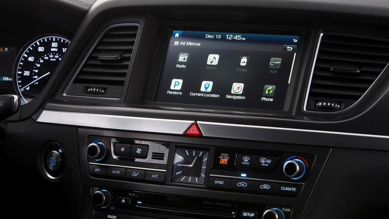 Blue Link system in the  2015 Hyundai Genesis