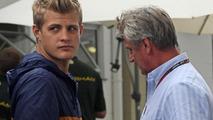 Marcus Ericsson (Left) 23.11.2013 Brazilian Grand Prix