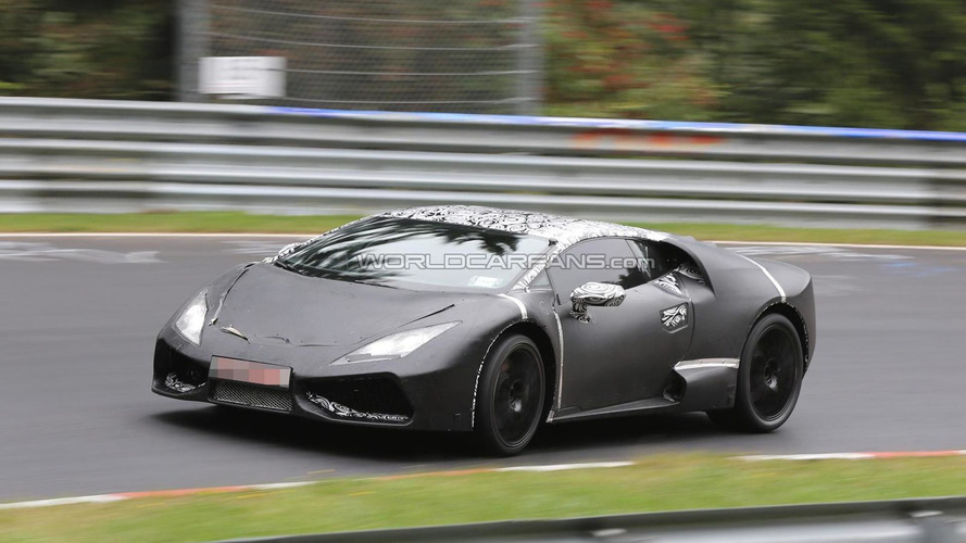 Lamborghini Cabrera shows first interior details in new spy photos