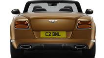 2014 Bentley Continental GT Speed Convertible