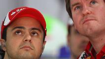 Felipe Massa and Rob Smedly 29.10.2011 Indian Grand Prix