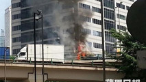 Ferrar FF fire in Hong Kong
