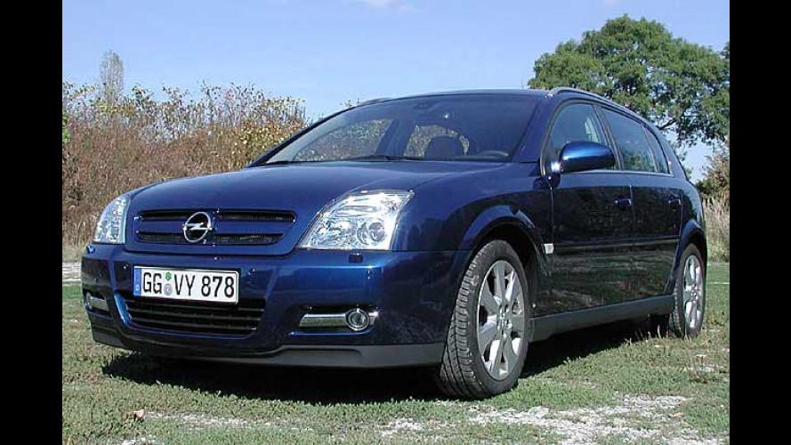 Opel-Flaggschiff Signum mit neuem Benzindirekteinspritzer