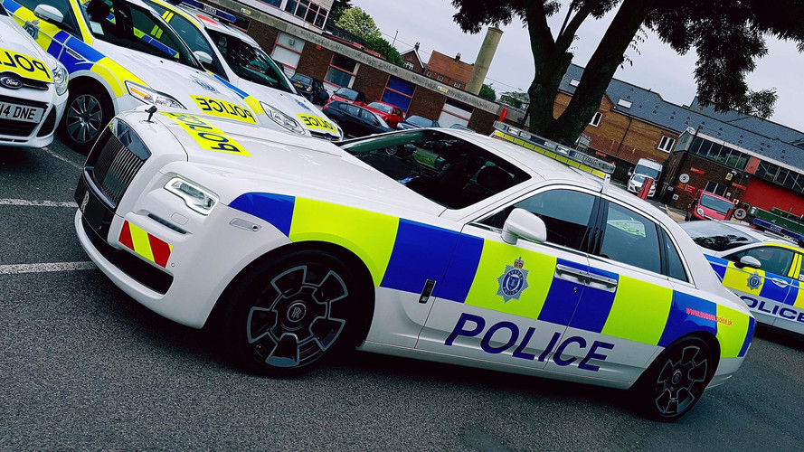 Une Rolls-Royce Ghost pour la police anglaise