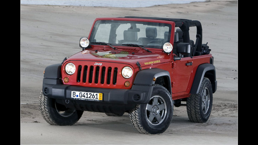 Jeep legt Sondermodell Wrangler Golden Eagle auf