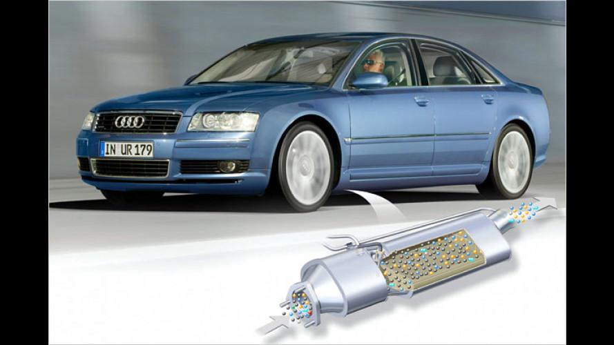 Audi A8: Rußpartikelfilter für den Dreiliter-Diesel 3.0 TDI
