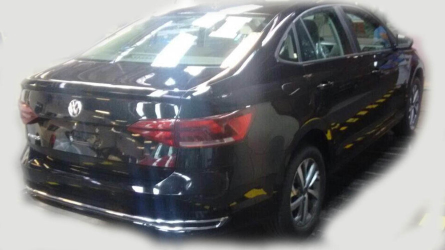 New VW Virtus (a.k.a. Polo Sedan) Caught Completely Undisguised