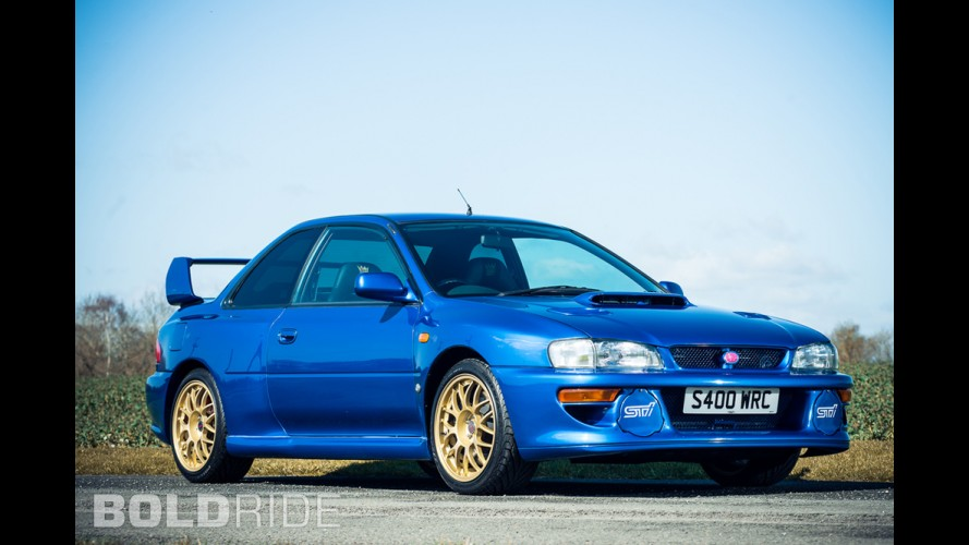 Subaru Impreza 22B STi Model Overview