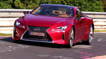 2018 Lexus LC 500 sounds pretty good on the Nurburgring