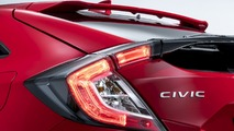 2017 Honda Civic Hatchback teaser and Jazz Spotlight Edition