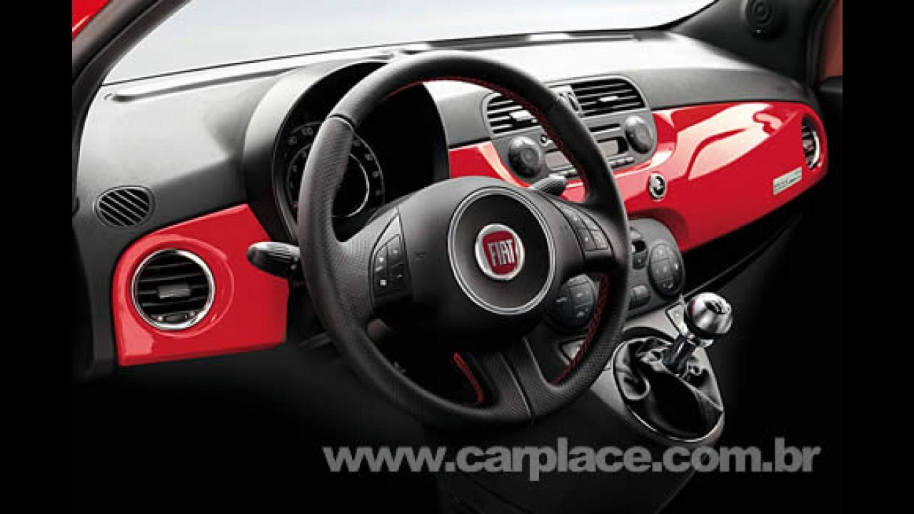 Fiat 500 Ferrari Edition - Compacto ganha edição limitada em 200 unidades