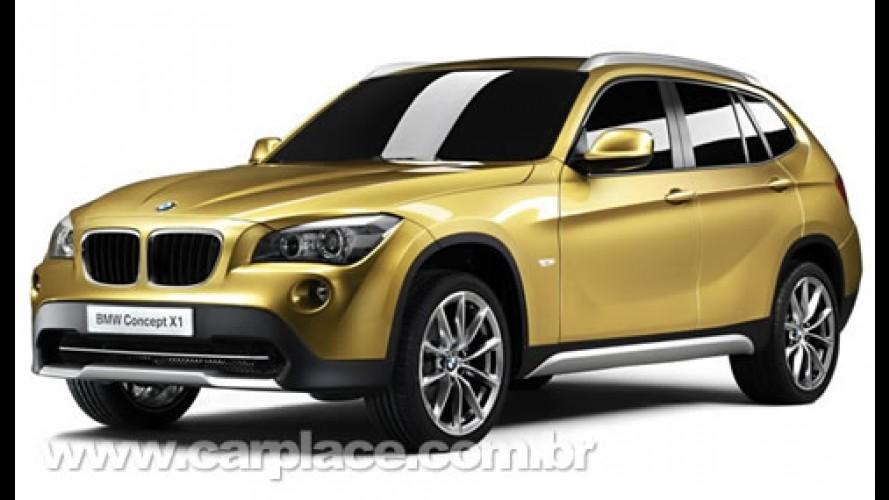 BMW Concept X1 - Vazam imagens do novo utilitário esportivo 4x4 alemão