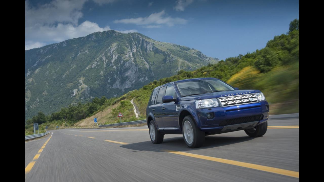 Land Rover Freelander 2 restyling