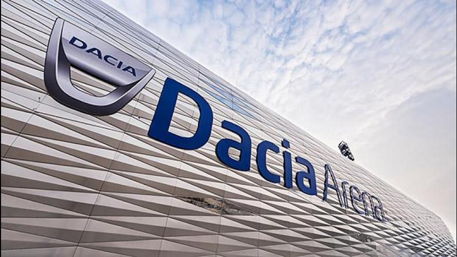 Dacia Arena, in Italia nasce lo stadio moderno