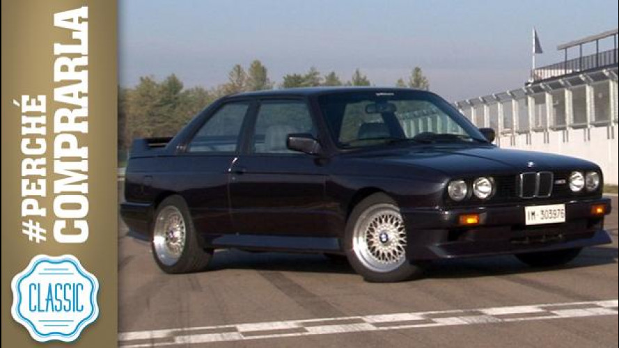 BMW M3 E30 (1988), perché comprarla... Classic [VIDEO]