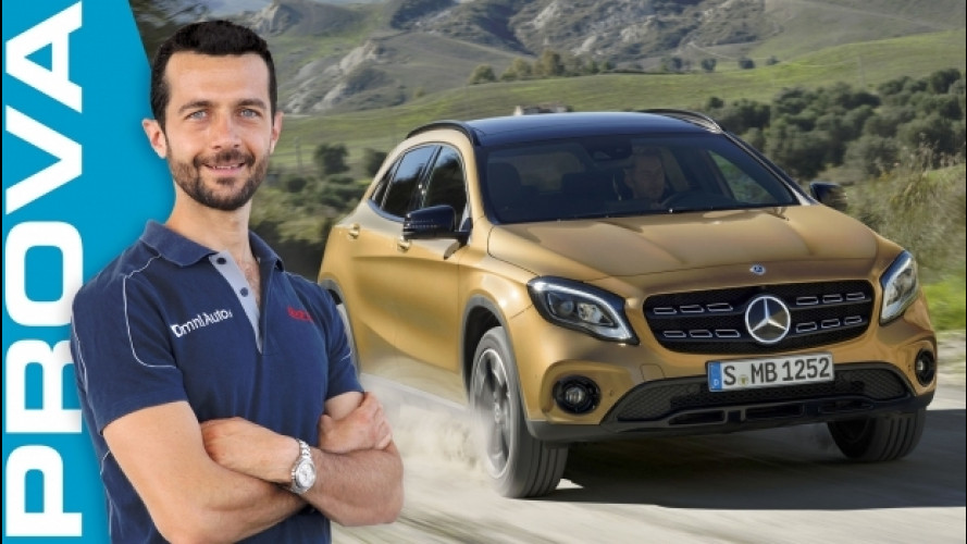Mercedes GLA, il ritocco giusto [VIDEO]